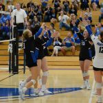 Girls Varsity Volleyball beats Miamisburg 3 – 0