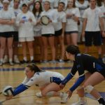 Girls Varsity Volleyball falls to Centerville 3 – 2