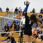 Girls Varsity Volleyball falls to Ursuline Academy 3 – 0