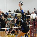 Girls Varsity Volleyball falls to Centerville 3 – 0
