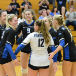 Panthers Varsity Volleyball sinks the Vikings 3 – 0