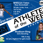 Athlete of the Week: 11/18/2019-12/2/2019