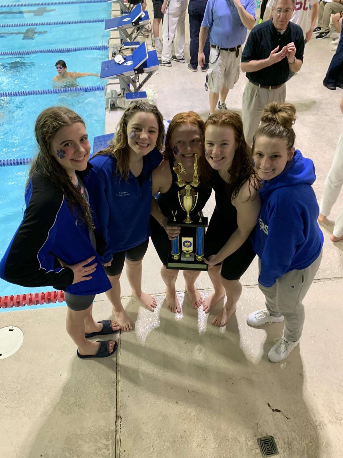 Girls Swimming Wins Southwest Ohio Swim Classic