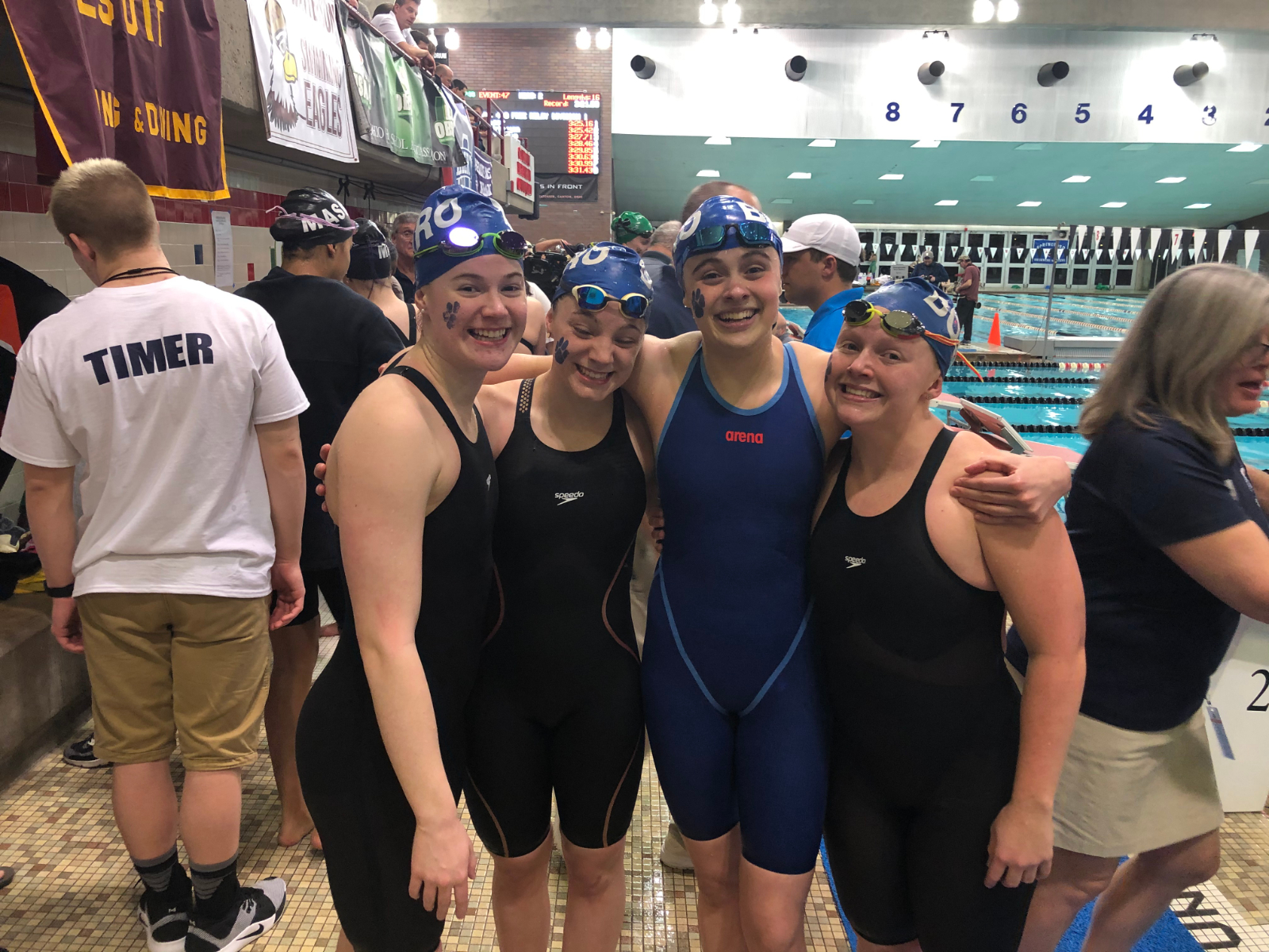 Swimmers Thrive at State Meet