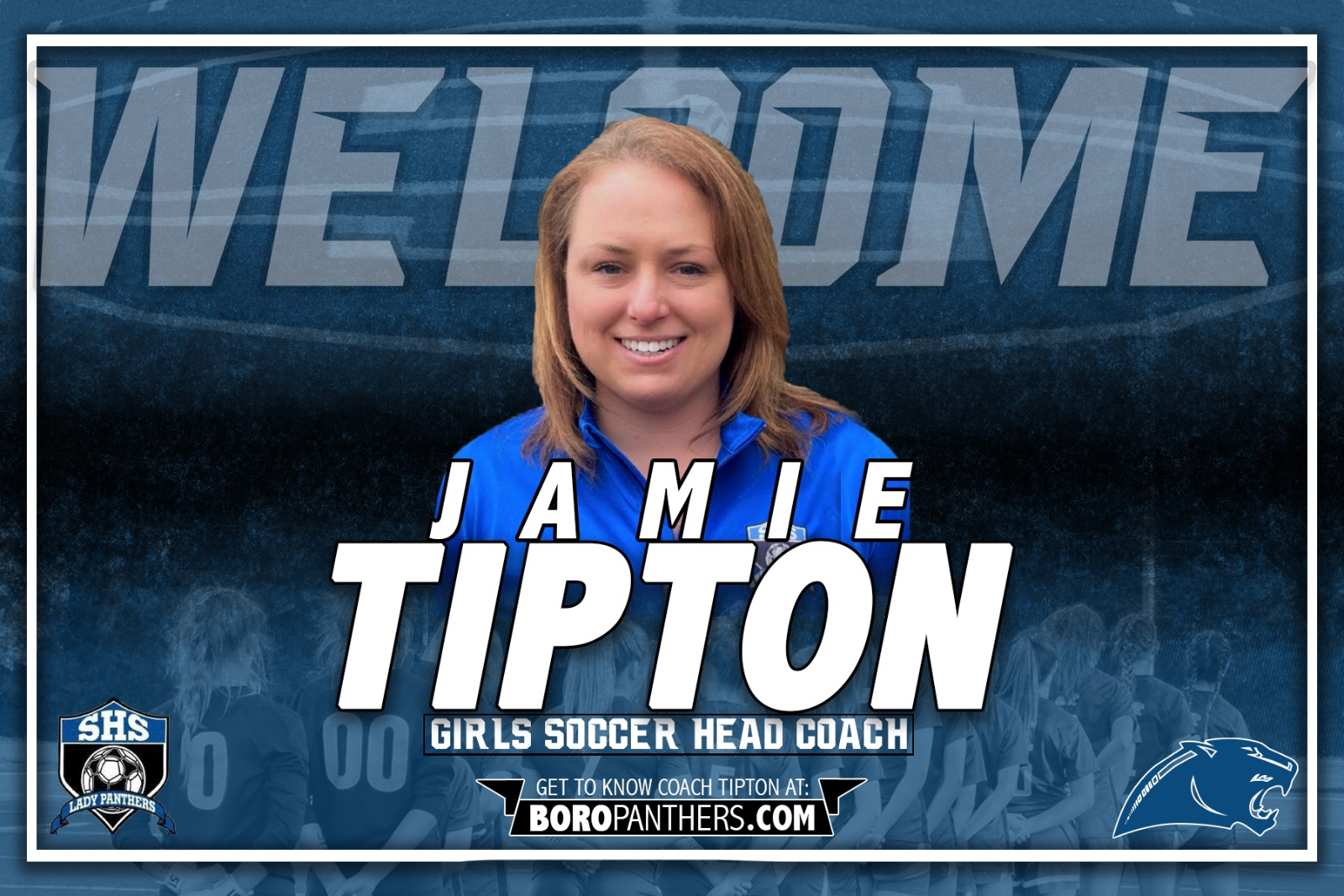 Panthers Name Jamie Tipton as Head Girls Soccer Coach, Pending Board Approval