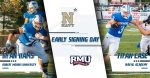 Early Football Signing Day: Case and Iiams Officially Sign