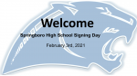 February 3rd, 2021: Winter Signing Day