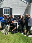 Springboro Cheerleading Donates Blessing Box