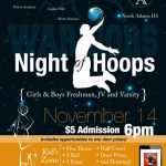 """WARRIORS NIGHT OF HOOPS"""