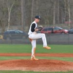 Ferguson Throws Shutout for Baseball Warriors