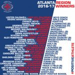 Caroline Ballou & Mariel Walts named Positive Athlete Region Winners