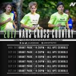 NAHS Cross Country 2017 Schedule