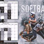 NAHS Softball 2017 Schedule