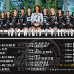 NAHS Volleyball 2017 Schedule