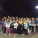 NAHS Tennis Team Players Raise Funds By Coaching Kids