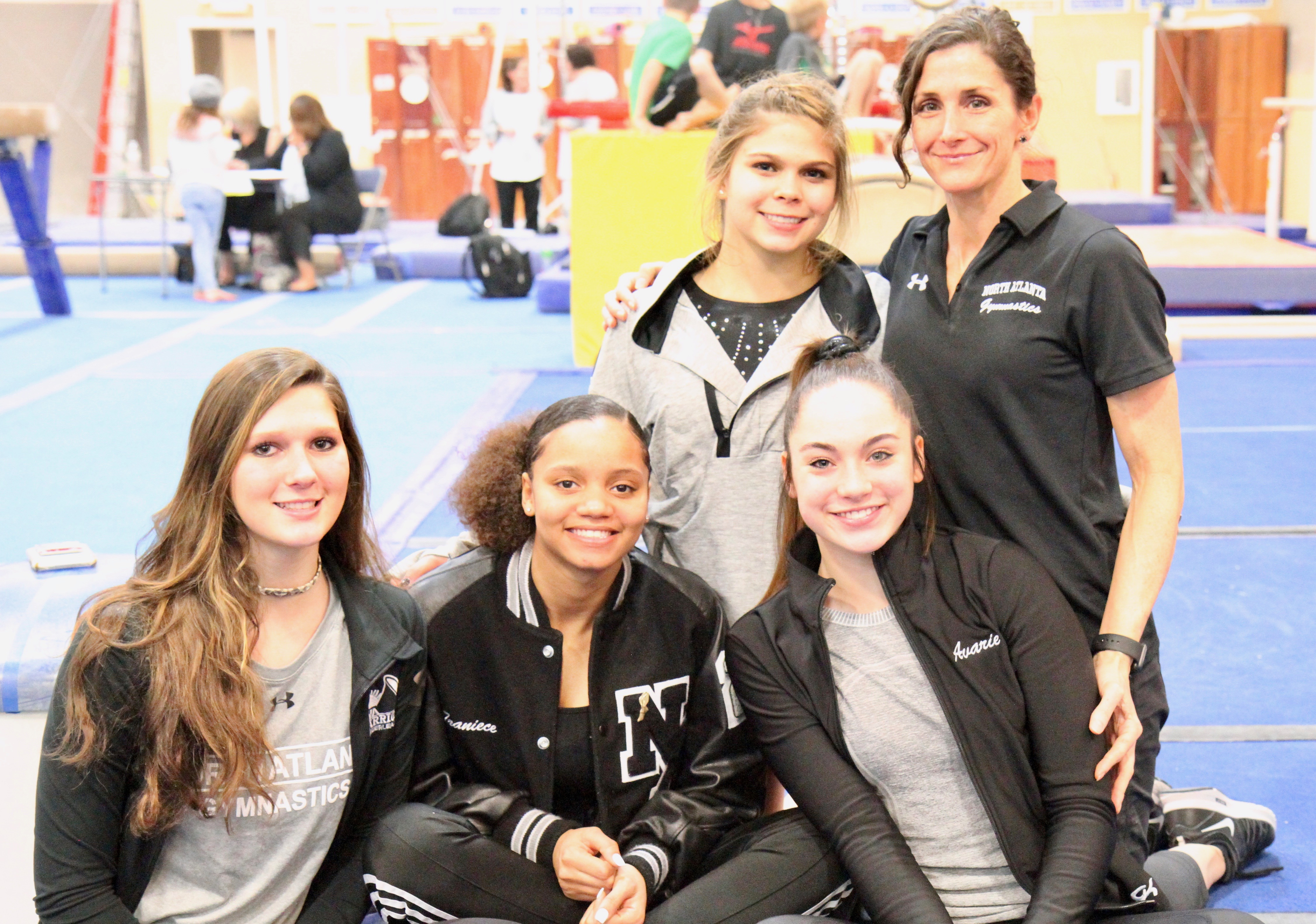 Warrior Gymnastics are off to a swinging start…