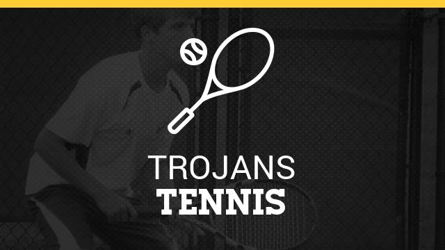 Trojan Boys Tennis Earn Regional Co-Champ Honors and Coach Dilloway is Named Regional Coach of the Year!