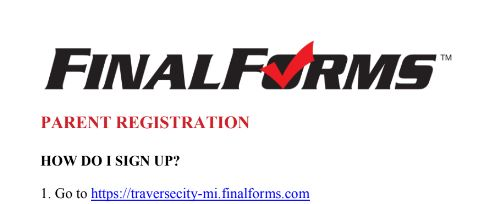 FinalForms Registration is now OPEN for Fall Sports 2019