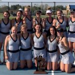Trojan Girls Tennis Wins Regional and Coach Dilloway Named Regional Coach of the Year!