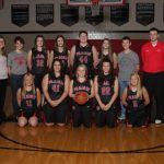 Clinton Prairie High School Basketball Varsity Girls beat Rossville High School 57-24