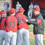 Clinton Prairie High School Baseball Varsity beats Clinton Central High School 8-5