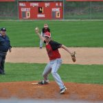 Clinton Prairie High School Baseball Varsity falls to Rossville High School 3-9