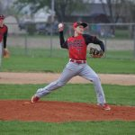Clinton Prairie High School Baseball Varsity beats Rossville High School 4-2