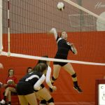 Clinton Prairie High School Volleyball Varsity falls to Western Boone High School 0-3