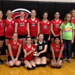Clinton Prairie 7th Grade Volleyball beat Tecumseh Middle School 2-0
