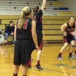 Girls Varsity Basketball beats North White High School 50-32