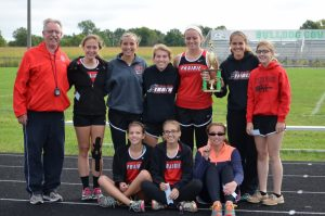 Girls XC @ County Meet