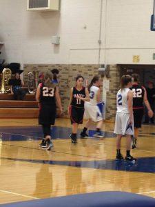 JV Girls Basketball VS. Carroll