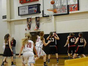Girls JV Basketball VS. Frontier