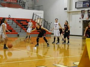 Girls Varsity Basketball VS. Frontier