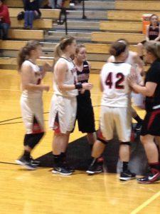 JV Girls Basketball vs Sheridan