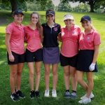 Girls Varsity Golf finishes 7th place at Seeger