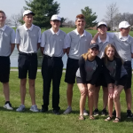 Boys Varsity Golf beats Frontier 204 – 231