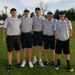 Boys Varsity Golf finishes 1st place vs Sheridan/Western Boone
