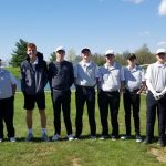 Boys Varsity Golf falls to Carroll 217 – 218