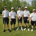 Boys Varsity Golf finishes 2nd place at Lewis Cass Jr-Sr High School