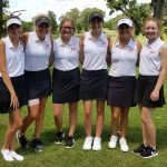 Girls Varsity Golf finishes 4th place at Rensselaer Central