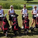 Girls Varsity Golf finishes 2nd vs Taylor & Elwood