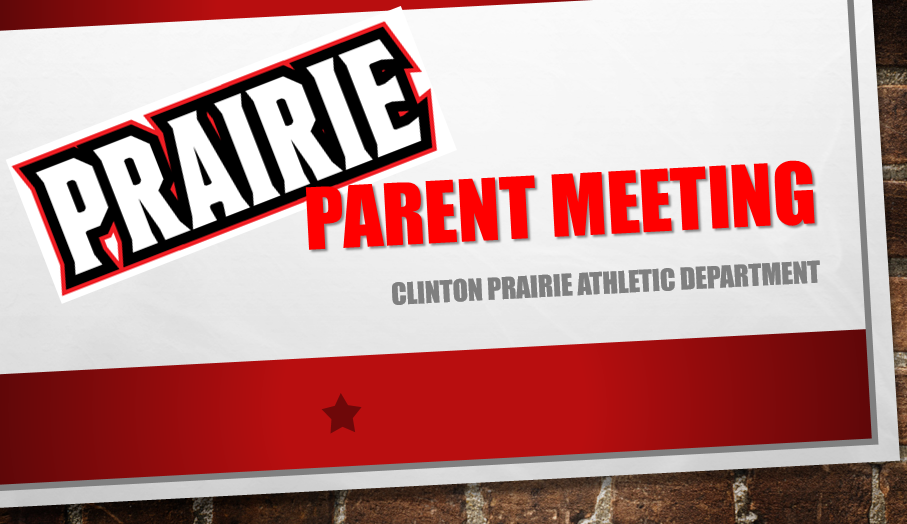 Athletic Parent Meeting