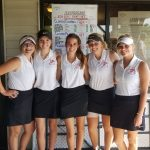 Girls Varsity Golf finishes 4th place at County