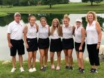 Girls Varsity Golf finishes 4th place at HHC Tournament