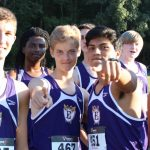 Emerald High School Boys Varsity Cross Country finishes 4th place