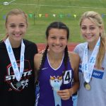 Girls Track Medals at State Championships