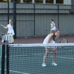 Emerald High School Girls Varsity Tennis falls to Greenwood High School 5-2