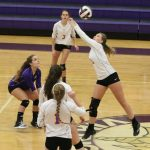 Emerald High School Girls Varsity Volleyball beat Carolina High School 3-0