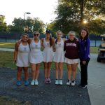 Girls Tennis in Playoffs at Indian Land
